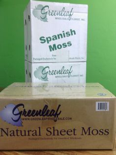 Moss Available at Greenleaf Wholesale Florist Phoenix (602) 264-3781 www.greenleafwholesale.com