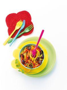 Salade aux 3 poivrons grillés