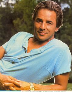 Don Johnson: Who didn't have a thing for 'Sonny Crockett'?