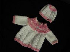 Bella Baby Jacket | AllFreeKnitting.com