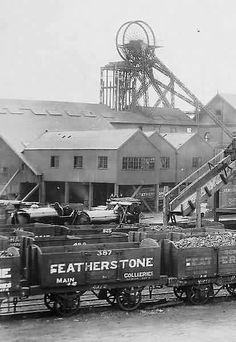 Featherstone Main Colliery, owned by Lord Masham, picture late Coal Miners, Best Stocks, Wakefield, West Yorkshire, Way Of Life, Team Building, Britain, Jazz, Maine