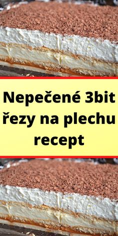 Nepečené 3bit řezy na plechu recept Cake Cookies, Banana Bread, Cereal, Deserts, Food And Drink, Beef, Cooking, Breakfast, Meat