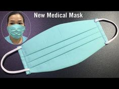 (1470) NEW Medical mask model, unique style has never appeared before/ DIY at home simple/ - YouTube Easy Face Masks, Diy Face Mask, Diy Craft Projects, Sewing Projects, Coin Couture, Homemade Mask, Youtube, Diy Mask, Sewing Hacks