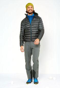 Viel Funktion und gute Isolation – Arc'teryx stattet Dich für sportliche Wintertouren aus.