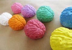 The 67 Best Noncandy Halloween Ideas to Give Trick-or-Treaters Brains Sidewalk Chalk Brains Sidewalk Chalk ($7)