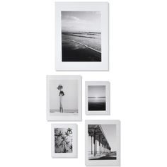 Deny Designs 'Ombre Beach' Wall Art Print Set ($99) ❤ liked on Polyvore featuring home, home decor, wall art, art, backgrounds, pictures, text, saying, quotes and picture frame