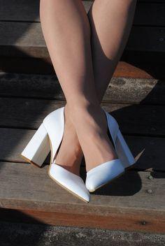 Fancy Shoes, Pretty Shoes, Cute Shoes, Wedge Wedding Shoes, Wedding Heels, Winter Wedding Shoes, Wedding White, Wedding Hair, Bridal Hair
