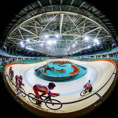 Rio 2016 Olympic Velodrome photo Graham Watson