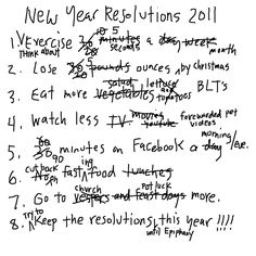 interesting new year resolutions