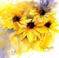 Rachel Mcnaughton - Yellow Rudbeckia Sq