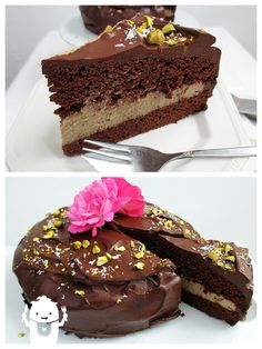 Dekadenter Schokoladen Mokka Kuchen (Vegan)