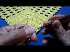 Trilho de mesa em croche - YouTube Crochet Bikini, Blanket, Crafts, Youtube, Craftsman Bathroom, Crochet Triangle, Crochet Shorts, Crochet Table Runner, Dressmaking