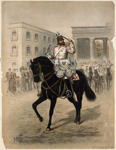 German; Garde Du Corps, Kettledrummer, 1890
