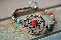 Dreamcatcher Bracelet by TurquoiseCrush on Etsy, $21.99
