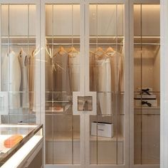 Post A well designed and thought out dressing room can be similar to a luxury retail experience but in the comfort of your own… Walk In Closet Design, Wardrobe Design Bedroom, Closet Designs, Bedroom Decor, Bedroom Shelves, Bedroom Signs, Bedroom Ideas, Master Bedroom, Dressing Room Closet