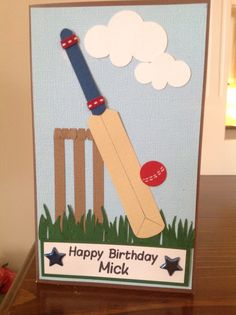 1000 images about cards for boys on pinterest birthday for The cricket arts and crafts