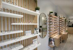 Clinic Interior Design, Clinic Design, Retail Boutique, Optical Shop, Retail Store Design, Optometry, Feng Shui, Wall Design, Showroom