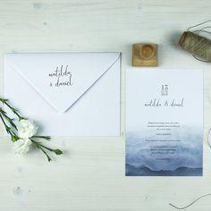 Invitación de  boda TORONTO Summer Of Love, Toronto, Place Cards, Place Card Holders, Dress, Vintage Invitations, Wedding Stationery, Elegant Wedding, Card Designs