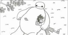 鉄拳が独自の視点で描き下ろした『ベイマックス』の世界観 timein.jp