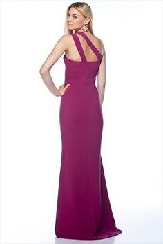 Milla by trendyol - Gece Koleksiyonu - Fuşya Elbise MLWSS143718 sadece 129,99TL ile Trendyol da