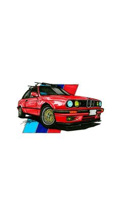 Bmw M Series, Bmw Wallpapers, Bmw Classic Cars, Bmw S, Volkswagen Transporter, Car Illustration, Car Drawings, Jdm Cars, Car Pictures