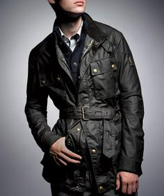 RIDING IN STYLE:  Seven new takes on the classic men's Belstaff Trialmaster jacket