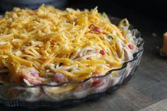 Chicken Spaghetti Trim Healthy Mama approved