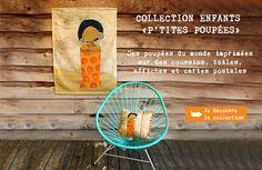 Les Petites Kasko : créations-collages pour la décoration, la papeterie et les enfants