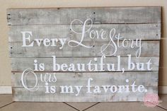 our love story is my favorite too :)