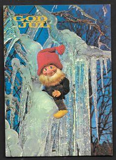 Valgt bilde Gnomes, Norway, Auction, Christmas Postcards, Magic, Painting, Illustration, Art, Art Background