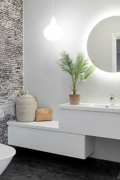 If you have a small bathroom in your home, don't be confuse to change to make it look larger. Not only small bathroom, but also the largest bathrooms have their problems and design flaws. Diy Bathroom Decor, Small Bathroom, Bedroom Decor, Wall Decor, Bathroom Interior, Bathroom Wall, Interior Paint, Style At Home, Home Decor Accessories