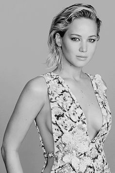 Jennifer Lawrence photographed by Patrick Demarchelier for Glamour USA!