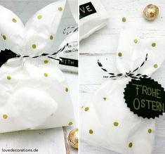Osterverpackung: Hasen-Tüten // Easter Wrapping: Bunny Bag