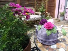Cosy Rosy Tea Cosy by DathuilDesigns on Etsy