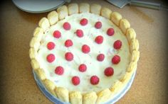 Tort diplomat cu zmeura si ananas Romanian Desserts, Pie, Food, Sweet Pastries, Torte, Pastel, Meal, Eten, Pies