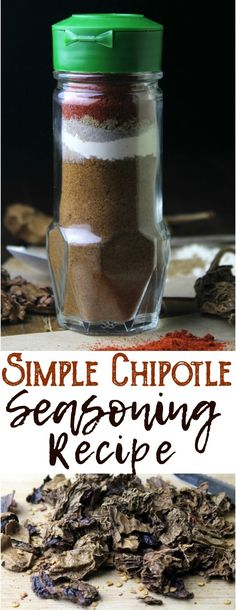 Use this easy and inexpensive homemade chipotle seasoning recipe to add flavor and a smoky heat to all of your favorite foods. Chipotle Seasoning Recipe, Chipotle Recipes, Homemade Chipotle, Mexican Seasoning, Seasoning Mixes, Mexican Food Recipes, Homemade Seasonings, Spice Mixes, Other Recipes