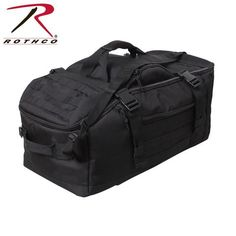 d19f25efb4 Rothco 3-In-1 Convertible Mission Bag Duffle Bag Travel