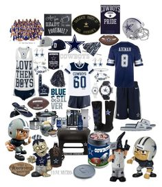 """🏈☆🏈DALLAS COWBOYS☆AMERICA'S TEAM!!!!🏈☆🏈"" by craftychick77 ❤ liked on Polyvore featuring Rico Industries, NIKE, Picnic Time, Kolder, Cuce, aminco, Forever Collectibles, Alex and Ani, The Bradford Exchange and WinCraft"