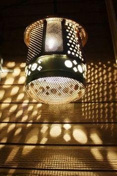 Upcycled Light Fixtures - JUNKMARKET Style