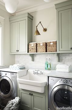 The World's Most Beautiful Laundry Rooms