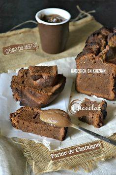 Cake fondant – Ultra fondant au chocolat et crème de marron