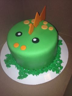 Dinosaur Smash Cake intended for Party - Birthday Ideas Make it<br> Dinosaur First Birthday, First Birthday Cakes, 1st Boy Birthday, Birthday Ideas, Dinosaur Cakes For Boys, Dinosaur Cupcakes, Dino Cake, Cake Smash, Party Cakes