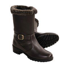 Khombu Mardi Gras Boots (For Women) in Dark Brown