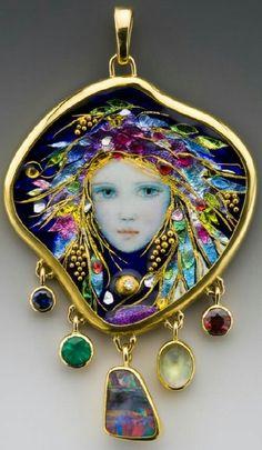 Handcrafted Enamel by Jewelry Artists Mona & Alex Szabados