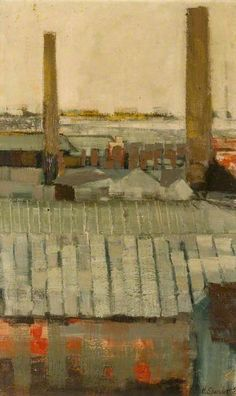 John Humphrey Spender - Industrial Landscape, 1959