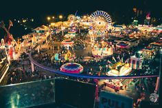 The midway of the California State Fair was so much fun as a teenager. It was the first time we got to wander on our own with friends and eat what we wanted and lose or money on those silly carnival games.