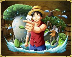 Monkey D. Luffy Crew's Promise: 3D2Y Straw Hat Pirate captain. After losing Ace in the Summit...