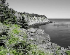 Grand Manan Cliffs 1 by WilkiePhotography on Etsy
