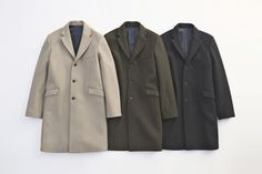 CHESTER FIELD COAT... PRICE : ¥64,000-(+TAX)