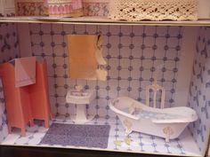 Dollhouse bathroom diy